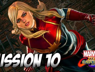 Marvel vs Capcom Infinite Captain Marvel Mission 10 05