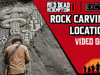 Red Dead Redemption 2 Rock Carvings