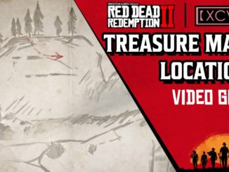Red Dead Redemption 2 Treasure Map Locations
