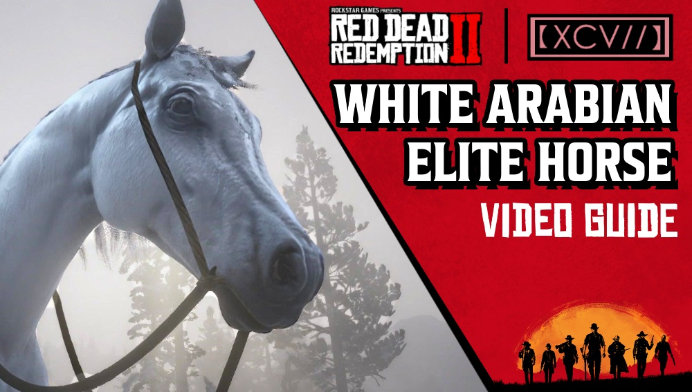 Red Dead Redemption 2 White Arabian Horse Guide Agoxen