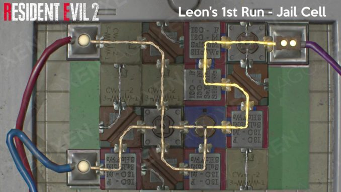 Resident Evil 2 2019 Puzzle Solutions Guide Agoxen