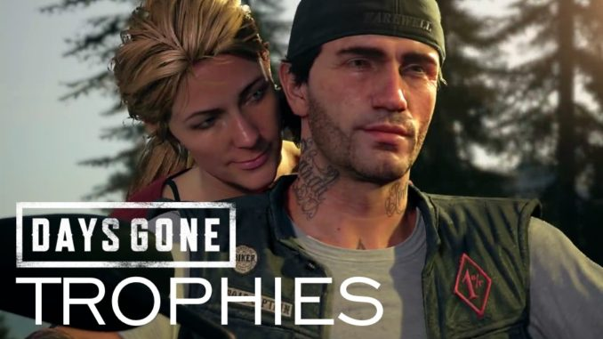 Days Gone Trophy List Achievements Agoxen